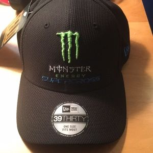 Monster Energy Supercross Hat NWT